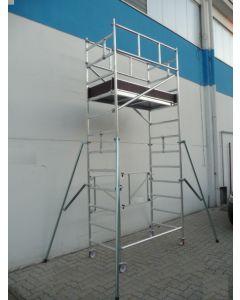 """Echafaudages en aluminium """"STP"""" type ALPO JUNIOR"""